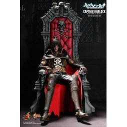 Space Pirate Captain Herlock - Capitan Harlock - 1/6 Harlock con Trono MMS223