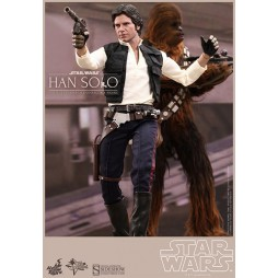 Star Wars Movie Masterp. 1/6 2-pack Han Solo & Chewbacca