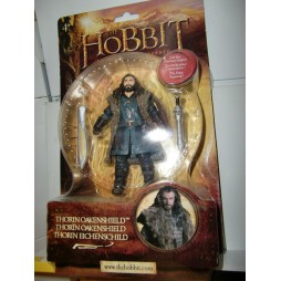 THE HOBBIT AN UNEXPECTED JOURNEY - THORIN OAKENSHIELD (SCUDO DI QUERCIA) - Action Figure