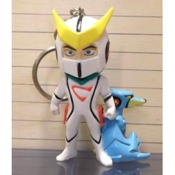 Kyashan e Flender - Keyring 3D - Portachiavi - Deformed Mini Figure Keyholder