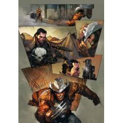Marvel Comics - Poster - Dream Colours - Wolverine Vs. Punisher