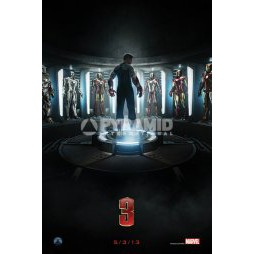 Marvel Comics - Poster - Iron Man 3 - TEASER