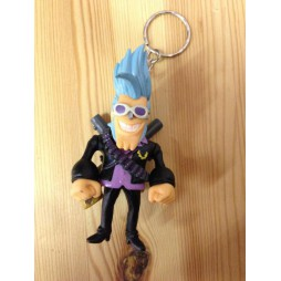 One Piece - Keyring - SET - Franky - Strong World D.