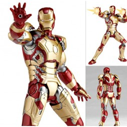 Revoltech - Sci-Fi - 049 - Iron Man 3 Mark 42 - XLII