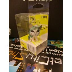 Sweet Private Savings - Luminous Mini Headphone Dust Plug - Curious Cat Mini Figure 4 cm