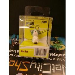 Sweet Private Savings - Luminous Mini Headphone Dust Plug - Happy Cat Mini Figure 4 cm