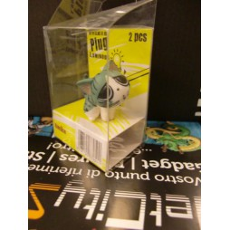 Sweet Private Savings - Luminous Mini Headphone Dust Plug - Hungry Cat Mini Figure 4 cm