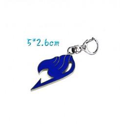 Fairy Tail - Keyring - 2D Metallic - Blue Logo