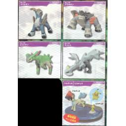 Pokemon BW Movie 2012 Collection figures