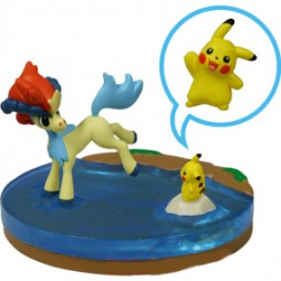 Pokemon BW Movie 2012 Keldeo + Pikachu