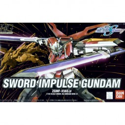 HG Gundam Seed 021 - ZGMF-X56S/BETA Sword Impulse Gundam 1/144