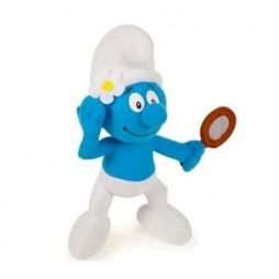 I Puffi Plush - Smurfs - Puffo Vanitoso - Play By Play - Peluche 25 cm