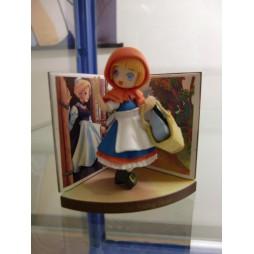 Pop Wonderland - Little Red Riding Hood Figure gashapon x5 SET - Figure #1 Loose