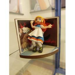 Pop Wonderland - Little Red Riding Hood Figure gashapon x5 SET - Figure #4 Loose