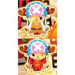 One Piece Plush - Film Z Maneko - Chopper Plush X Vol.1 - SET - Peluche 28 cm