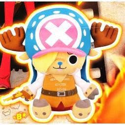 One Piece Plush - Film Z Maneko - Chopper Plush X Vol.1 SANJI - Peluche 28 cm