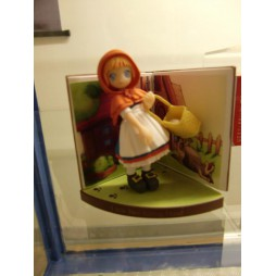 Pop Wonderland - Little Red Riding Hood Figure gashapon x5 SET - Figure #5 Loose