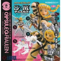 Queen\'s Blade - S&M Duels Leina Vs. Nanael - Kayodo Capsule Q Fraulen - Hobby Japan figure ful set - Set Completo