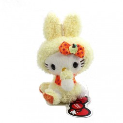 Hello Kitty Plush - Hello Kitty Rabbit GIALLA - Eikoh - Peluche 24 cm
