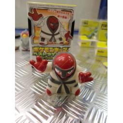 Pokemon - Kids BW Finger Puppets Sofubi Vinyl Figure Set - 617 Throh - Loose