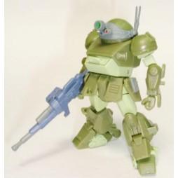 Sunrise Robot Selection Vol.2 Gashapon Figure Set Bandai - VOTOMS SCOPEDOG 2 (Green)