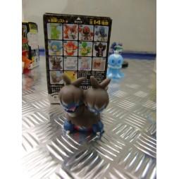 Pokemon - Kids BW Finger Puppets Sofubi Vinyl Figure Set - 623 Zweilous - Loose
