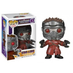 POP! Marvel 047 Guardians of the Galaxy Starlord Vinyl Bobble-Head Figure