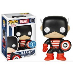 POP! Marvel 108 Captain America U.S.Agent Underground Toys Exclusive Vinyl Bobble-Head Figure