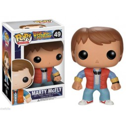 POP! Movies 049 Back to the Future Marty McFly Vinyl Figure