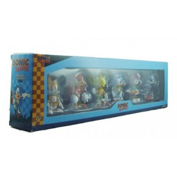 Sonic The HedgeHog - mini figure collectibles 6 pack