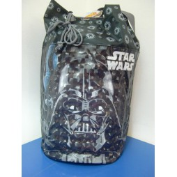 Star Wars - Borsa Sacco A Tracolla - Darth Vader 3d Effect