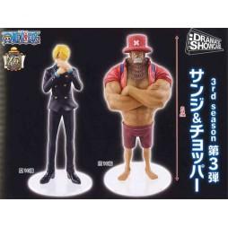One Piece - Dramatic Showcase 3rd season Vol.3: Sanji e Chopper