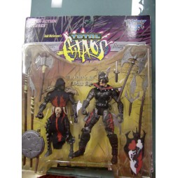 Todd McFarlaine\'s Total Chaos - The Conqueror and Dragon Blade - Ultra Action Figures