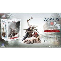 Assassin\'s Creed III - Ubisoft Statue - Connor Kenway - The Last Breath Diorama