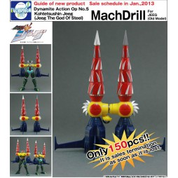 Dynamite Action! Op No. 05 - Kotetsushin Jeeg Mach Drill Limited 150 Pcs