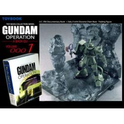 Gundam Operation A Baoa Qu Coll. 1 MS-06F Zaku II - Toybook
