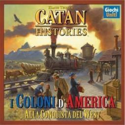 I Coloni D\'america - Alla Conquista Del West - Catan Historis - Giochi Uniti