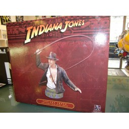 Indiana Jones - Gentle Giant - Indy Mini Bust With Whip - Limited Edition No.4433/5000