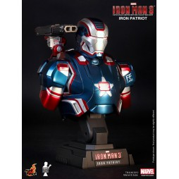 Iron Man 3 - Hot Toys - 1:4 Size - Iron Patriot - BUST