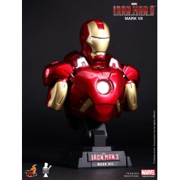 Iron Man 3 - Hot Toys - 1:4 Size - Mark VII - BUST