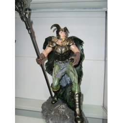 Thor -- Statua Resina - Medievale - Valchiria - Loki
