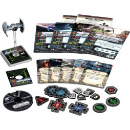 X-WING: TIE DELL'INQUISITORE - Star Wars Rebels Pack di Espansione contenente 1 miniatura dei caccia TIE Advanced v1 PE