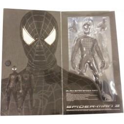 Real Action Heroes - Black Spiderman