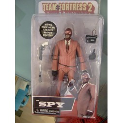 TEAM FORTRESS 2 - RED SPY - 7 DELUXE SERIES 03 - ACTION FIGURE