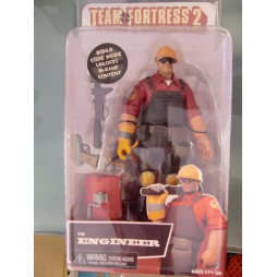 TEAM FORTRESS 2 - THE ENGINEER- 7 DELUXE SERIES 03 - ACTION FIGURE