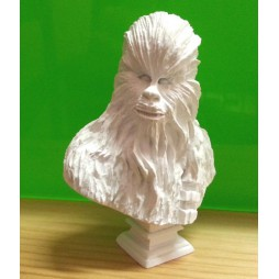 Star Wars - Takara Tomy A.R.T.S. YUJIN - Polystone Mini Bust Statue Figure - SR Gashapon SET - Chewbacca