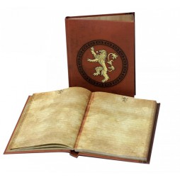 Game Of Thrones - Il Trono Di Spade - Light Up Notebook - Lannister Crest Si Illumina
