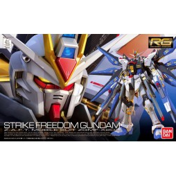 RG Real Grade - 14 ZGMF-X20A Strike Freedom Gundam Z.A.F.T. Mobile Suit 1/144