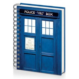 Doctor Who - Notebook A5 - Tardis