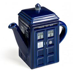 Doctor Who - Teapot - Teiera in Porcellana - Tardis Porcelain